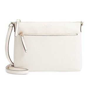 NWT Kate Spade Medium Polly Crossbody in Parchment